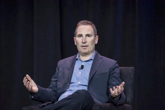 El CEO de Amazon Andy Jassy.