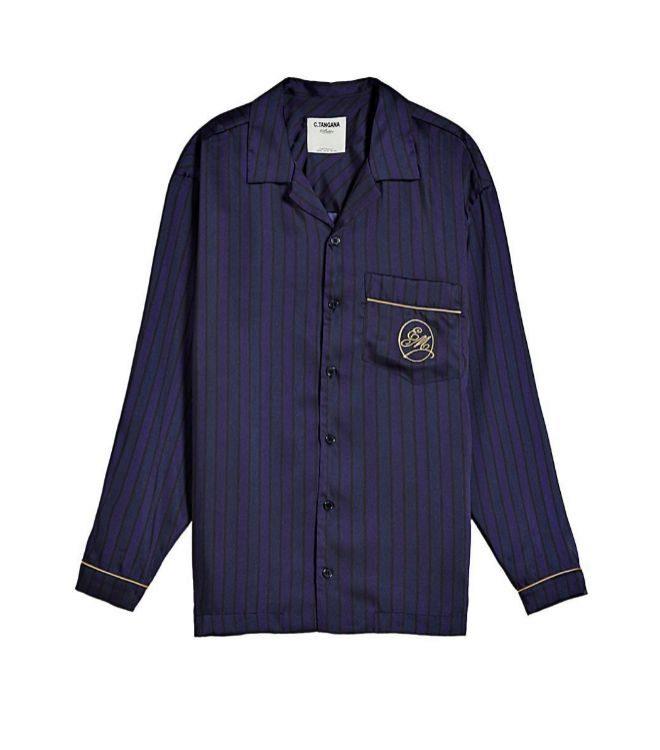 Camisa satinada, 39,99 euros.