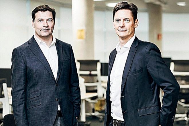David Barroso,fundador y CEO de CounterCraft, junto a Dan Brett, fundador y director estratégico de la 'start up'.
