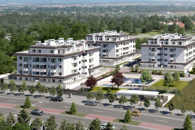 Proyecto inmobiliario en Madrid.