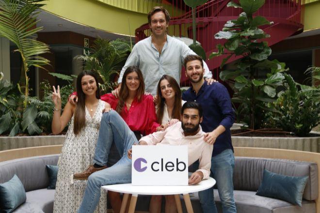 Equipo de Cleb, firma creada por Jaime Pérez-Seoane.