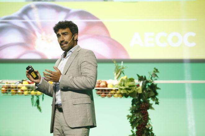 Ignacio Biedma, de Nielsen, durante la presentación.