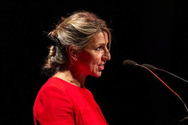 Yolanda Díaz, vicepresidenta segunda del Gobierno y ministra de Trabajo y Economía Social.
