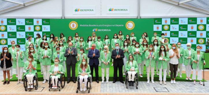 Iberdrola anuncia su apoyo a las olímpicas y paralímpicas españolas para los JJOO de París 2024