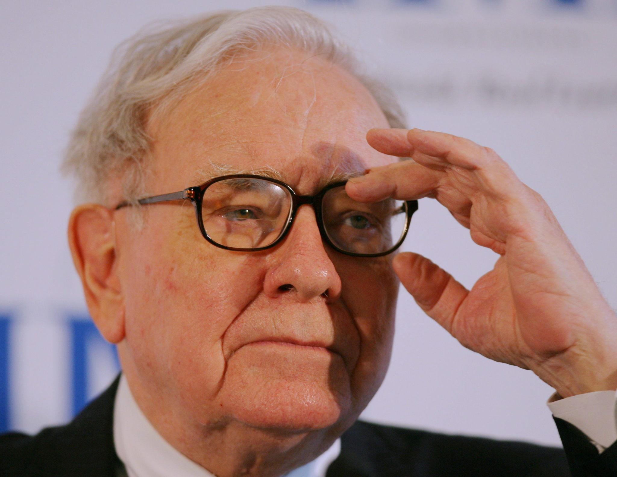 El multimillonario Warren Buffett.