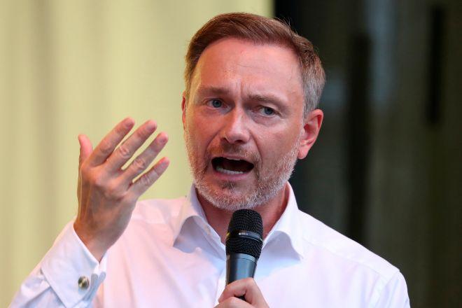 Christian Lindner, líder del FDP.