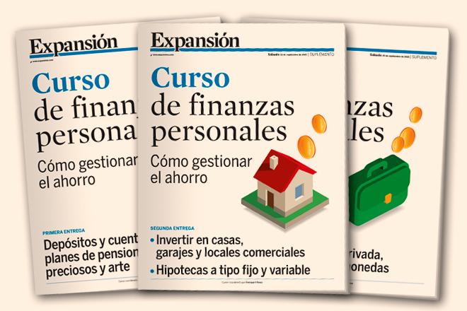 Hoy sábado, con Expansión, curso de finanzas personales