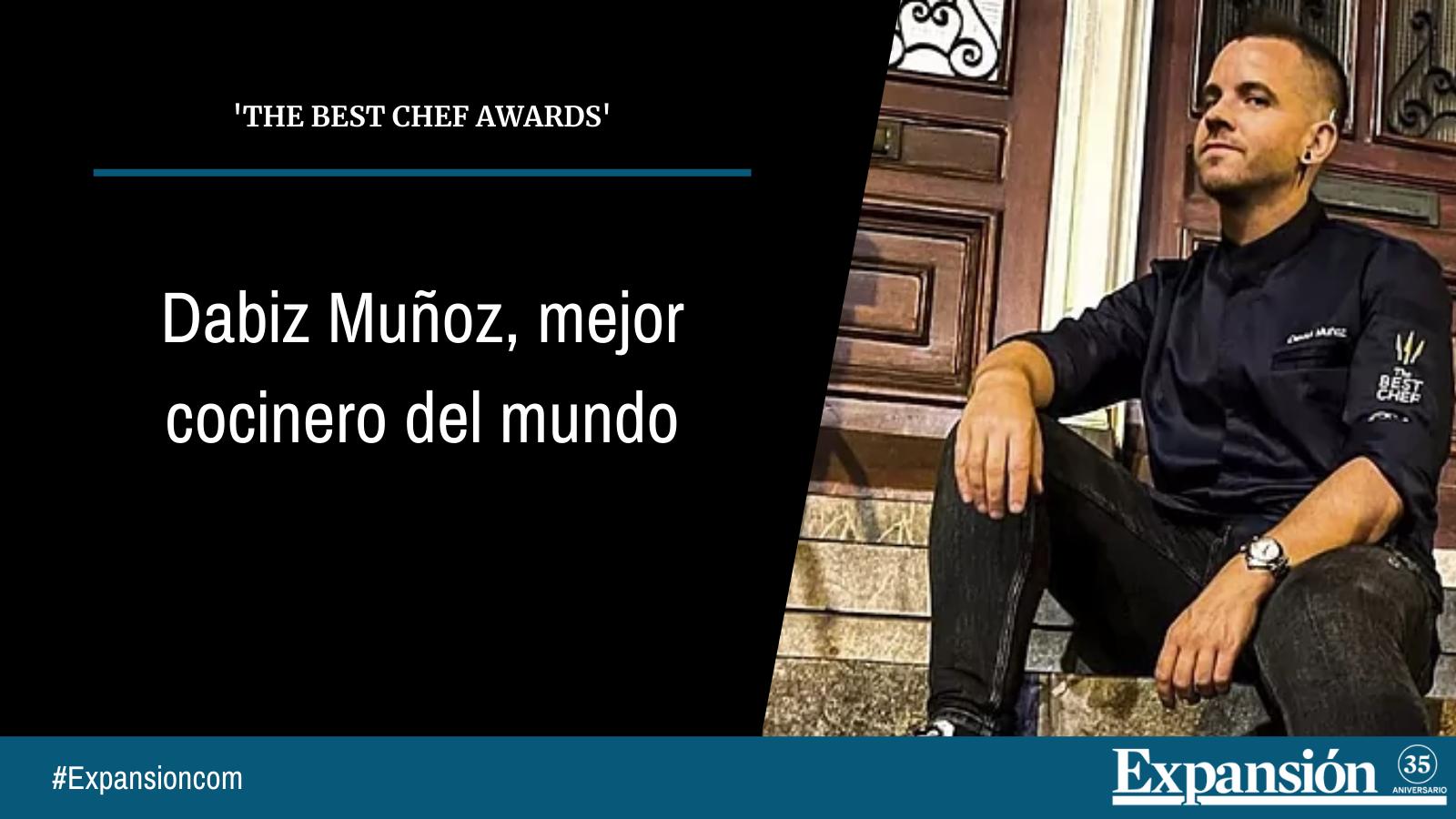 Dabiz Muñoz, mejor cocinero del mundo
