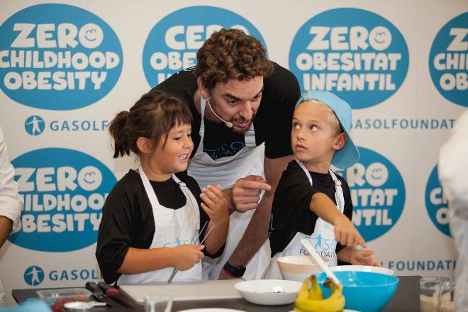 La Gasol Foundation y el Grupo IFA renuevan su alianza contra la obesidad infantil