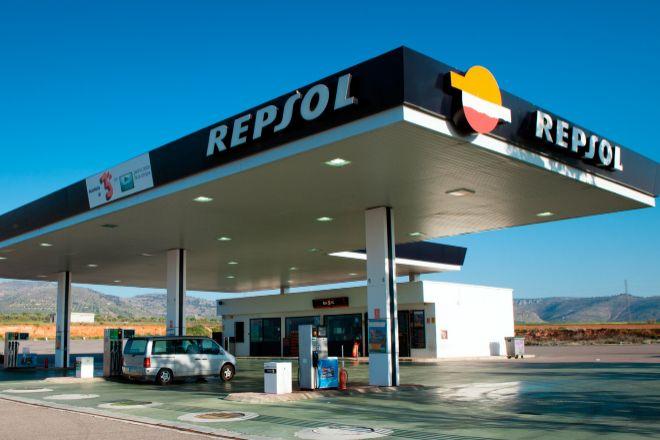 Estación de servicio de Repsol