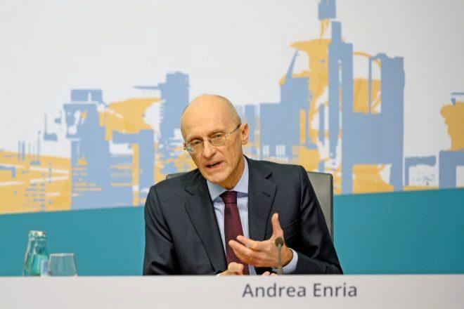 Andrea Enria, presidente del Mecanismo Único de Supervisión (MUS).