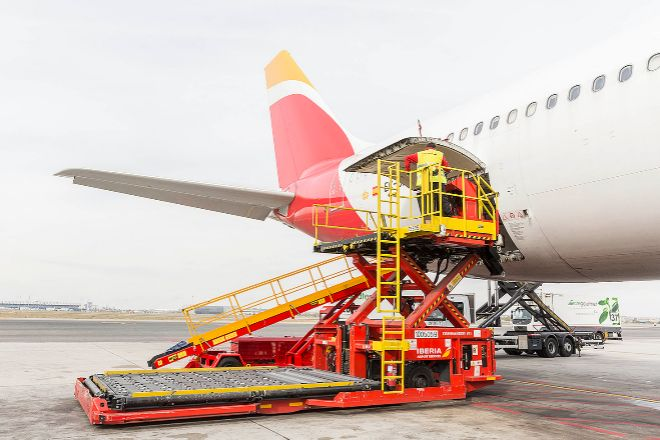 Cacesa es el operador logístico de carga propiedad de Iberia.