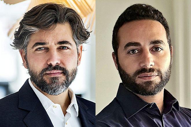 Ignacio Juliá, CEO de ING España y Portugal, y  Tarik Tawfik, director de Financiación al consumo.