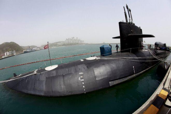 Los submarinos de propulsión nuclear pueden permanecer sumergidos durante más tiempo.