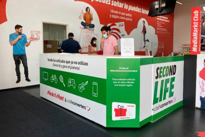 MediaMarkt se alía a Cash Converters y comprará tecnología de segunda mano en sus tiendas