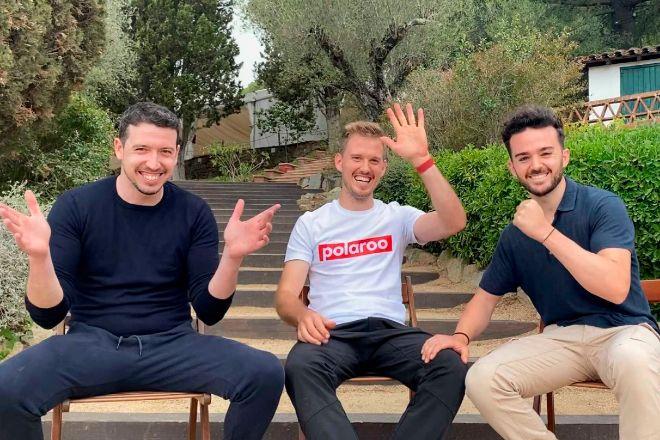 Sergio Sánchez, Marc Rovira y David Rovira son los creadores de Polaroo.