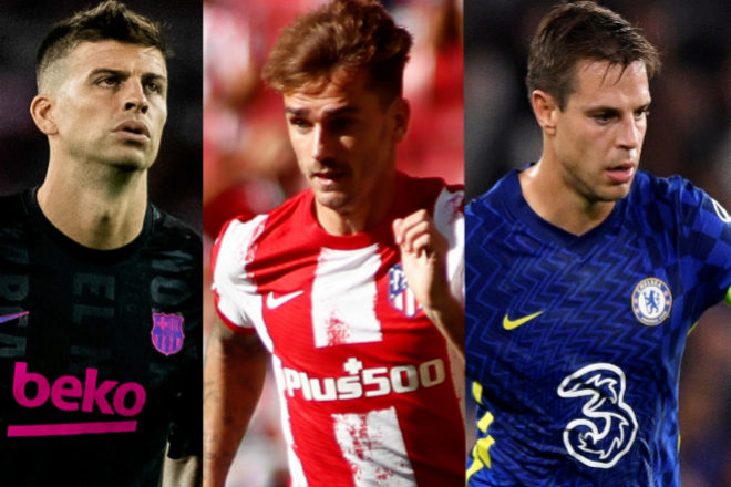 Gerard Piqué, futbolista y capitán del FC Barcelona y empresario; Antoine Griezmann, del Atlético de Madrid; y César Azpilicueta, capitán del Chelsea, son algunos de los inversores de Sorare.