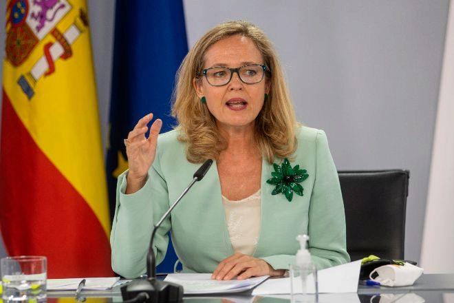La vicepresidenta primera del Gobierno y ministra de Asuntos Económicos y Transformación Digital, Nadia Calviño. EFE
