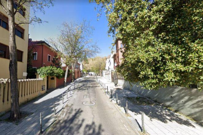Vista de la calle Titulcia, una de las que componen la colonia.