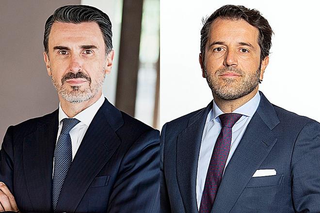 Ignacio de la Colina, presidente y consejero delegado de JPMorgan en España y Portugal, y Jorge Ramos, corresponsable de Banca de Inversión de Citi para España y Portugal.