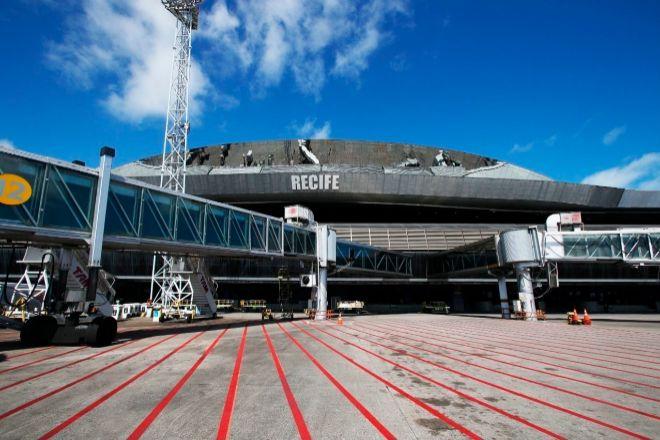 Aeropuerto de Recife, uno de los siete que gestiona Aena en Brasil.
