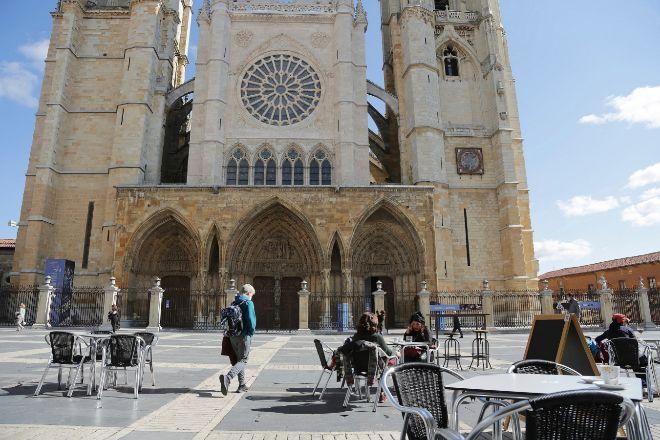 La catedral de León.