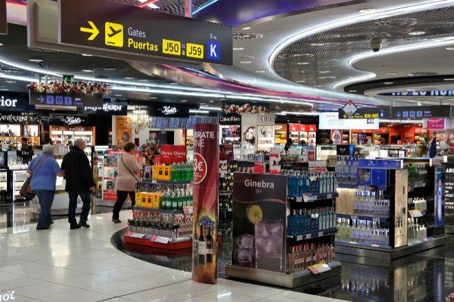 Tienda Duty Free en el Aeropuerto de Adolfo Suárez Madrid Barajas