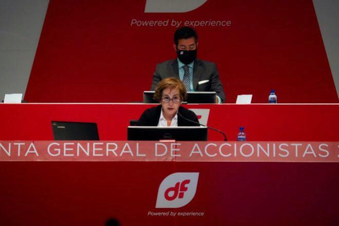 Rosa Aza es la presidenta de Duro Felguera.