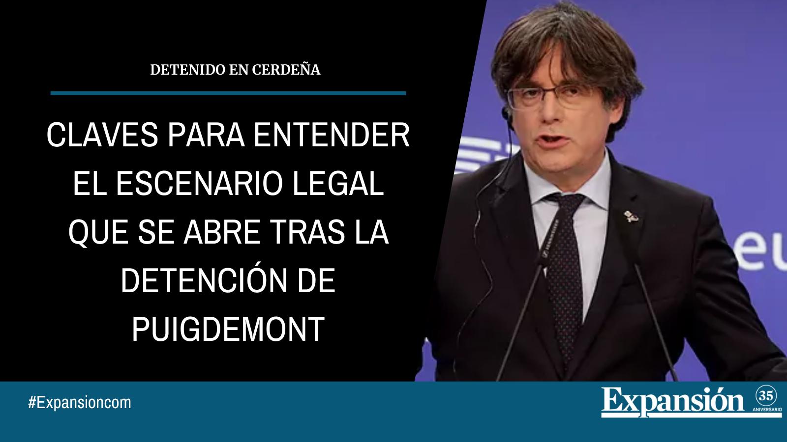 Puigdemont pone en la encrucijada a la justicia europea