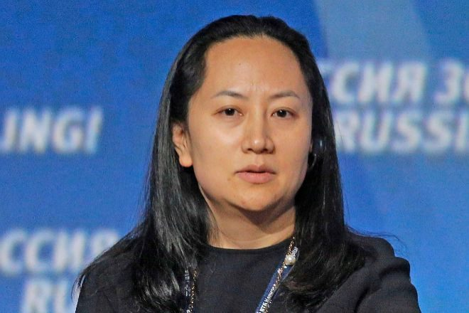 Meng Wanzhou, directora financiera de Huawei, en una fotografía de archivo.