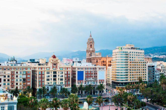 La ciudad de Málaga.