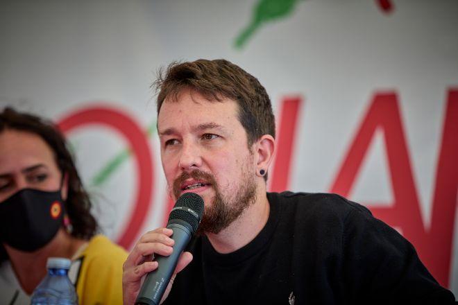 El exvicepresidente segundo del Gobierno Pablo Iglesias.