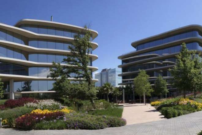 La sede de Grifols en Sant Cugat del Vallès (Barcelona).