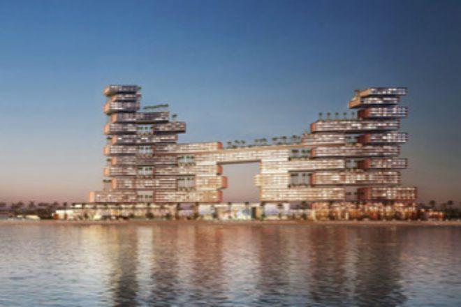 El complejo residencial Atlantis The Royal Resort & Residences en Dubái.