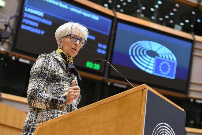 La presidenta del BCE, Christine Lagarde.