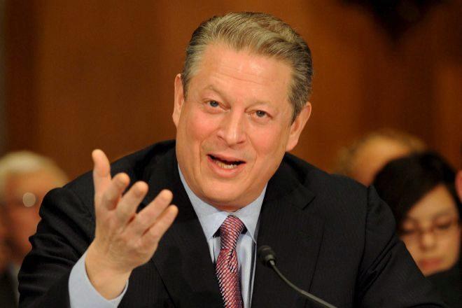 El ex vicepresidente estadounidense Al Gore.
