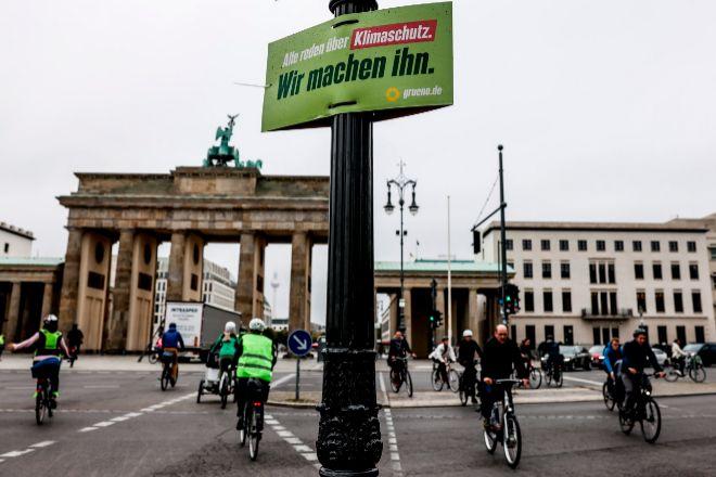 Puerta de Brandenburgo en Berlín.