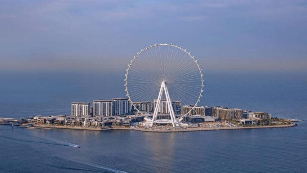 Ain Dubai, la noria más grande del planeta, con 250 metros de altura,...
