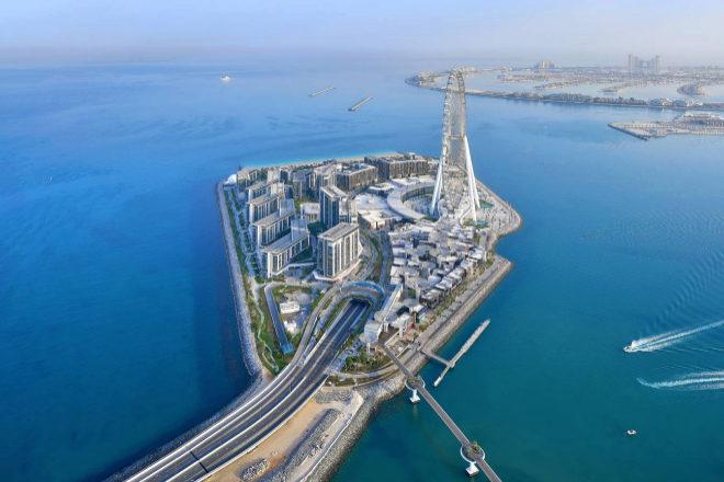 La noria se inaugura el 21 de octubre y transforma el paisaje de Bluewaters Island, en Dubái.