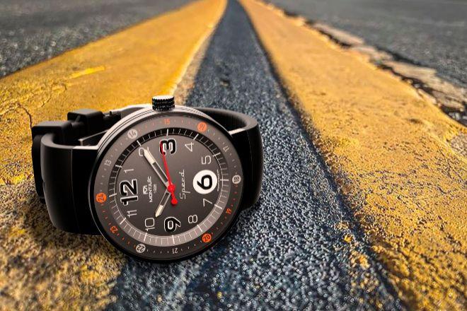 El primer modelo de Montjuïc Watches.