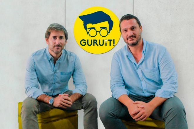 Jaime Aparicio y Pedro Pérez-Bedmar, cofundadores de Guruit!