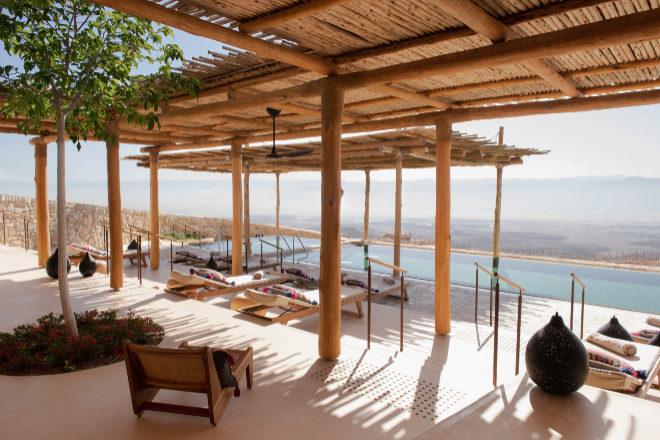Six Senses Saharut, ubicado en Negev Desert en Israel.