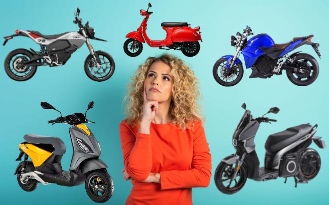 ¿Ha elegido ya su moto eléctrica para este otoño?