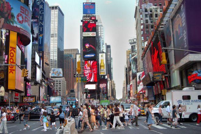 Times Square en Nueva York.