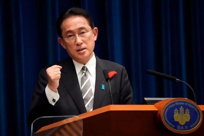 Fumio Kishida, primer ministro de Japón.