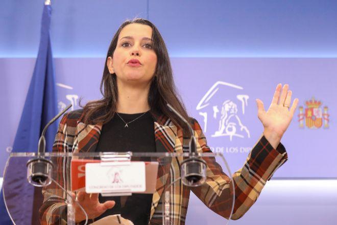 La presidenta de Ciudadanos Inés Arrimadas.