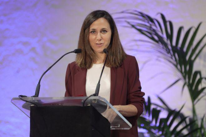 La ministra de Derechos Sociales y Agenda 2030 y  secretaria general de Podemos Ione Belarra.