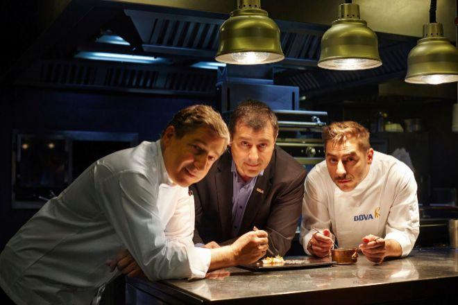 Joan, Josep y Jordi Roca tienen una alianza con BBVA desde 2013.