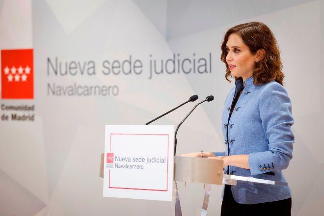 La presidenta de la Comunidad de Madrid Isabel Díaz Ayuso.