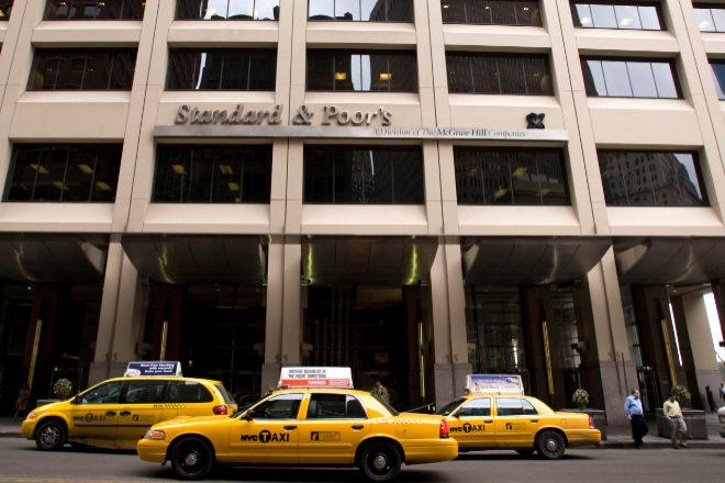 Sede de Standard & Poor?s en Nueva York.